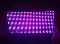 LED scrolling billboard module P10 semi-outdoor purple LED sign  LED board billboard LED display module free shipping