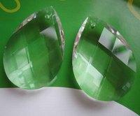 Free shipping  transparent  38x22mm(360pcs/lot ),crystal chandelier pendants/crystal curtain pendants