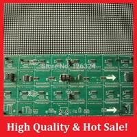 High quality billboard P4.75 LED display module F3.75 dot matrix module single red color 304*152mm 1/16 scan hub08 interface p5
