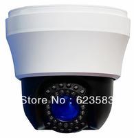 "Indoor Mini PTZ  Speed Dome camera Color 1/3"" Sony 480/650/700TVL EFFIO-S DSP IR:40M"