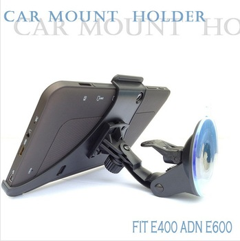 Newest Black Car Mount tablet PC Holder Stand navigation stand holder window mount 7 inch tablet pc For E400/E600/E600A