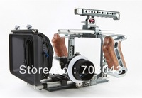 Tilta TT-BMC-05 BMCC rig  Silver gary Blackmagic Cinema Camera Rig fo +  follow focus + Matte box Free shipping