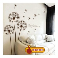Free Shipping L Dancingly Romantic room decoration furnishings tv background wall sticker