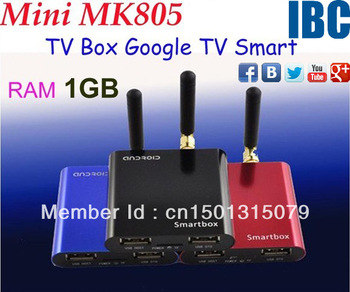 Mini MK805 Allwinner A10 Android 4.0 RAM 1GB ROM 4GB Google TV Smart Android Box