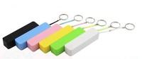 Portable Mobile Power Bank 2600mAh universal USB External Backup Battery for apple iPhone samsung and MP3