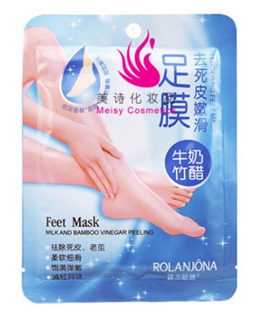 ($15 Mini Order) 8pcs/Lot Super Sexy Beauty Exfoliator Foot Care Mask Pedicure Care Remove Dead Skin Cuticles  Free shipping