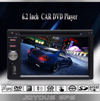 6.2 Inch Touch Screen Car DVD Player+GPS Navigation+Bluetooth+FM/AM Radio+AUX+Steering Wheel Control+USB/SD+1080P Video Playing