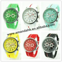 60pcs/lot,hot sale fashion ladies quartz watch,NO LOGO silicone strap,cute dress watch .