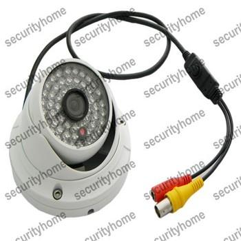 54IR Outdoor Dome camera SONY 700TVL Effio-P CCD 3D-DNR Super WDR 3.6mm Lens Night Vision CCTV Cameras OSD Menu