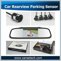 Auto Front/Rear Parking Sensor System Kit Electromagnetic Parktronic 4 Sensors