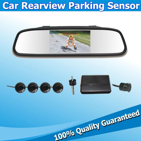 """4.3"""" Car Parking Sensor with Camera System Parking 8 Sensor de aparcamiento Option(China (Mainland))"""