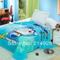 Hot Sale Cartoon Coral Fleece Baby Blanket Kid's Comforter Sleeping Quilt Home Blanket Bed Sheet