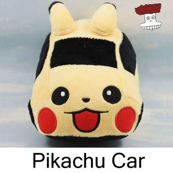 "Pokemon Plush Toys 7"" 17cm Pikachu car Soft Stuffed Animal Toy Figure Collectible Doll Children Christmas Gift"