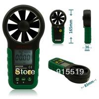 MASTECH MS6252B Digital Anemometer Wind Gauge Meter Tester USB Interface with T&RH Sensor