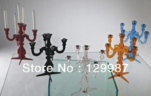 2013 hot selling acrylic candle holder,acrylic candelabra home decoration(China (Mainland))