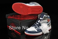 Real picture!  2013 fashion J1 Retro men Basketball shoes 12 athletic shoes fashion sport shoes size13 14 15