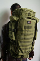 Free Shipping Camo Rifle Bag with backpack, 600D Combination backpack