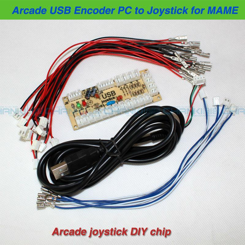 [WIP] Mini pincab 1 écran - petite config / petit budget Zero-Delay-Arcade-USB-Encoder-PC-to-Joystick-Control-panel-For-MAME-2pin-SANWA-Type-Push