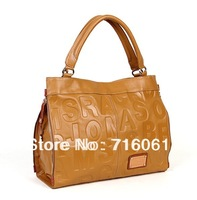 2015 Hot selling genuine leather women handbag fashion ladies shoulder bag famous desigeners brand tote bag