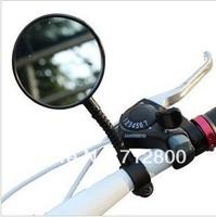 1 Piece  Sports Bicycle Handlebar Flexible Rearview Mirror Bike Side Rear View Mirror+ Free Shipping