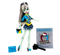 New 2014 Genuine the Monster High dolls picture day series Frankie stein original monster high dolls gift for girl free shipping