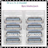 Free Shipping Brand Razor Blades for Men  M3 model (8pcs/pack)