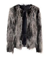 2014 New Faux Fur Women Coats Winter Long Sleeve Warm Fur Coat Jacket Overcoat Ladies Outerwear in Stock
