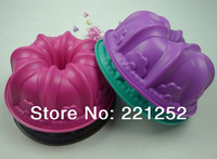 Silicone Cake mold  Bakeware  baking  Cake pan  Mold/Muffin Cup Bundt mould(FDKP-2003B)