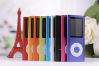 Christmas gift 10pcs discount  8G 4th MP4 player,1.8 inch TFT screen REC FM 9 color optional in stock Free shipping.