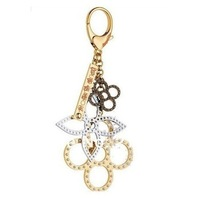 Unique Creative Multi- Color Metal Matching Clover Key Chain , High Classic , Bag  & Auto Accessories.  Free Shipping