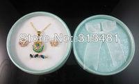Wholesale 60pcs/pcs 8.5*3.5CM Cheap Jewelry Set Box Necklace Rings Earrings Bracelet Gift Packing Case FGR2