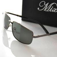 Anti-ultravialot rays polarized sunglasses men high quality alloy frame driver glasses(GL47)