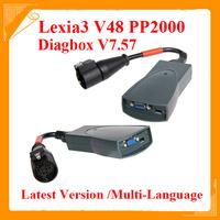 2014 Free shipping citroen peugeot diagnostic tool 30Pin pp2000 lexia3 interface Lexia 3