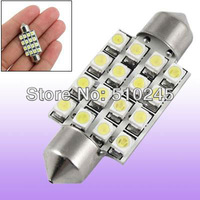 100x Big sales Wholesale Car led festoon light c5w 16 SMD led 16smd 3528 31MM 36MM 39MM 41MM  Auto led bulbs Free shipping