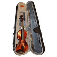 handmade spruce top violins 4/4 violin set include Case rosin bow free shipping acoustic violin