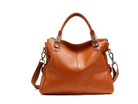 100% Geniune Leather Handbag Fashion Shoulder Tote Brand Handbags of Famous Women Sheepskin Bag Wholesale Free Shoipping