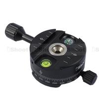 360 Metal Panoramic Panorama Head  for RRS Arca-Swiss Camera Tripod Ball Head&Quick Release Plate
