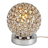 Dimmer Modern K9 Crystal Table Lamp Bedside Living Room Office Lampshade Decoration Lighting E27 110-240V