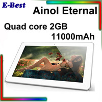 2013 new ainol tablet pc eternal novo 10 Forever Quad core ATM 7029 10.1 inch 2GB RAM 16GB 110000mAh Dual Cam IPS G+G screen BT