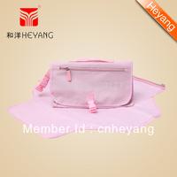 Free shipping New Arrival Foldable Fashion Baby Changing mat Handbag