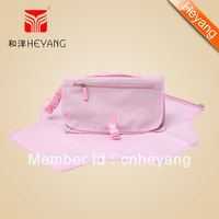Free shipping New Arrival Foldable Fashion Baby Changing mat Handbag