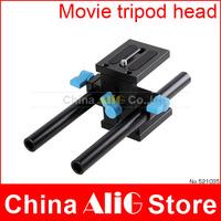 Camera Tripod Head 1/4 Screw Mount Holder for 5d 5dII 6d 7d d600 d610 d90 DSLR Movie Kit Photography guide Accessories