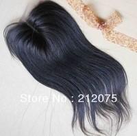 "Malaysia Virgin  straight  hair Lace Top Closure 4x4"" lace closure* No shedding * No tangle"