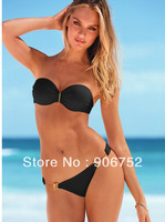 2013 new explosion models women bikini swimsuit sexy sexy steel prop gather  triangle bikini swimsuit Free Shipping DST-217