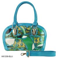 5 Color women Snake Grain Pattern PU leather women handbag Fashion Bag/ Tote Bags Promotion/VK 1339
