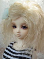 Free Shipping,Small bjd wig wool roll 1/3 1/4 1/6 bjd doll wig sd Multicolor optional, support customization