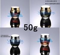 E2 Capacity 50g free shipping200pcs/lot Cream jar cream satin tank cover