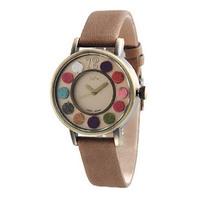 2014 Hot Sale New Freeshipping Women South Korea Brand Colorful Non-woven Retro Watch,ladies Quartz Watch,leather Strap Relojes