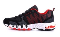 Free Shipping 2013 large size EUR40-48 mens shoes breathable high quality athletic shoes men running shoes