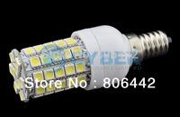 New E14 SMD5050 59 LED Corn Light Bulb Lamp Cold White SMD5050 200V-240V/5.4W 14664